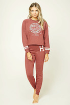 Forever 21 FOREVER 21+ Harvard Graphic PJ Pants