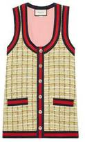 Gucci Tweed oversize vest