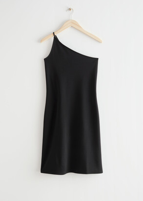 And other stories One Shoulder Mini Dress