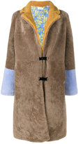 Saks Potts - long shearling coat - women - Sheep Skin/Shearling/Polyester - 1
