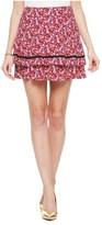 Juicy Couture Marina Floral Mini Skirt