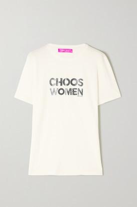 Jimmy Choo International Womens Day Printed Organic Cotton-jersey T-shirt