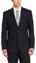 Kenneth Cole Unlisted Men's Solid Black Suit Separate Jacket