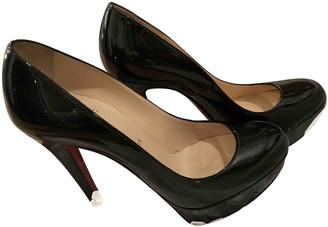 Christian Louboutin Bianca Black Patent leather Heels
