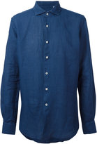 Glanshirt classic shirt - men - Linen/Flax - 39