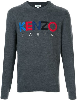Kenzo Logo Patch Jumper