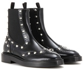 Balenciaga Embellished Leather Chelsea Boots