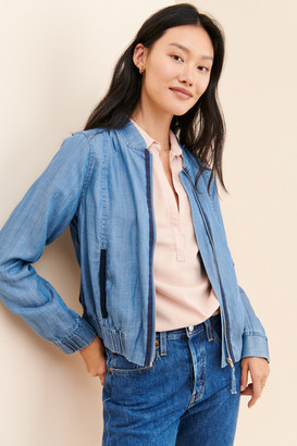 Current Air Chambray Bomber Jacket