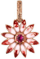 Gucci Flora charm in rose gold