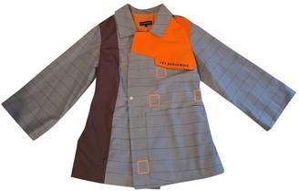 Les Benjamins Grey Cotton Jacket for Women