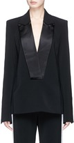Dion Lee Satin lapel suiting blazer top