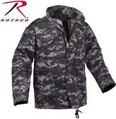 Rothco M-65 Camo Field Jacket, - X Large