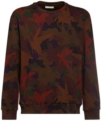 Etro Pegasus Camo Cotton Sweatshirt