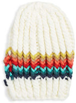 Free People Rainbow Striped Beanie