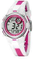 Calypso Women's Digital Watch with LCD Dial Digital Display and Multicolour Plastic Strap K5558/2