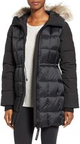 Canada Goose Women's Beechwood Down Parka With Genuine Coyote Fur Trim