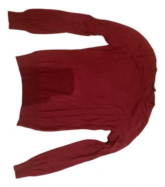 Malo Burgundy Cashmere Knitwear
