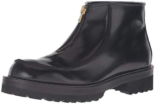 Marni Men's Brushed Leather Zip-Up Boot