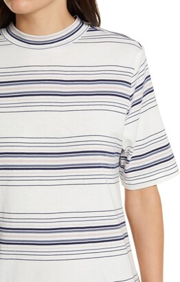 C&C California Bea Mock Neck T-Shirt Dress