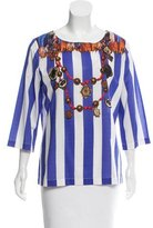 Figue Serafina Striped Top w/ Tags