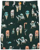 Stella McCartney Pine Ice Cream Organic Cotton Shorts