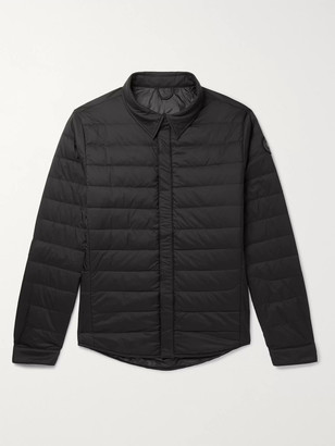 Canada Goose Jackson Slim-Fit Quilted Shell Down Shirt Jacket