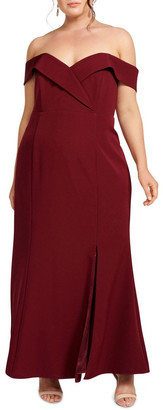 Forever New Curve Luna Formal Curve Gown
