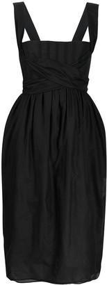 Brock Collection Tie-Embellished Dress