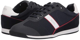 HUGO BOSS Glaze Low Profile Sneakers (Dark Blue) Men's Shoes