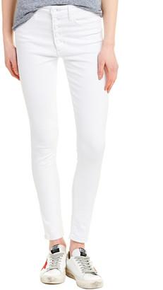 Joe's Jeans White High-Rise Skinny Leg
