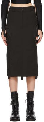 Hyein Seo Black Cargo Skirt