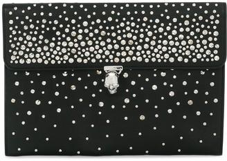 Alexander McQueen studded envelope clutch
