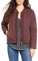Jolt Women's Quilted Cotton Bomber