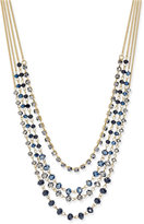 INC International Concepts Gold-Tone Beaded Multi-Layer, Only at Macy's Necklace