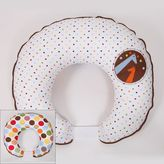 Bacati Baby & Me Reversible Hugster Nursing Pillow Cover