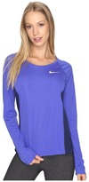 Nike Dry Miler Long Sleeve Running Top Women's Clothing