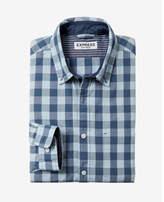 Express soft wash small buffalo check shirt