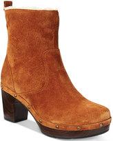 Clarks Artisan Women's Ledella Abby Studded Block Heel Boots