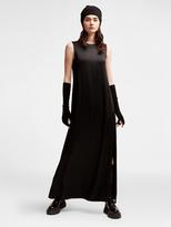 DKNY Pure Side Slit Maxi Dress