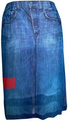 Preen Blue Skirt for Women