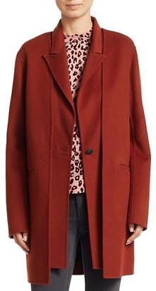 Rag & Bone Kaye Long Wool-Blend Coat