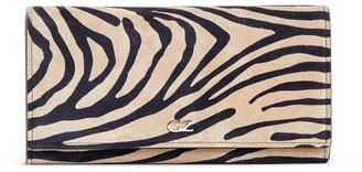 Giuseppe Zanotti Selene zebra-print wallet