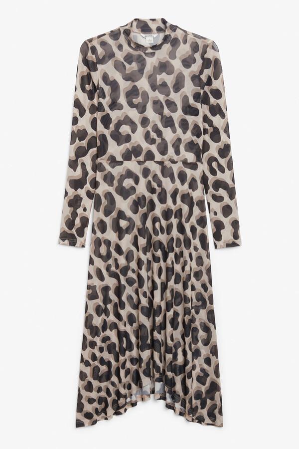 Thumbnail for your product : Monki Mesh maxi dress