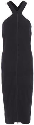 McQ Stretch-knit Midi Dress