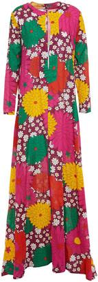 Dodo Bar Or Noreen Floral-print Cotton Maxi Dress