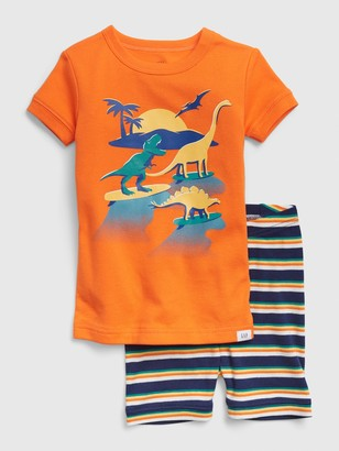Gap babyGap Dinosaur Short PJ Set