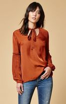 Somedays Lovin Canyon Tie Neck Top