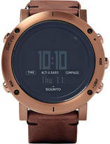 Suunto Essential Steel and Leather Watch