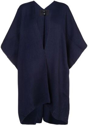 Voz knitted poncho