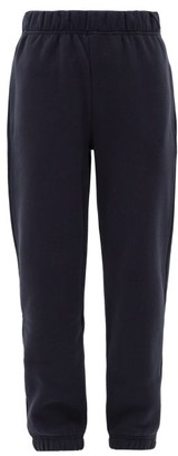 Raey Elasticated-waist Cotton-blend Track Pants - Navy